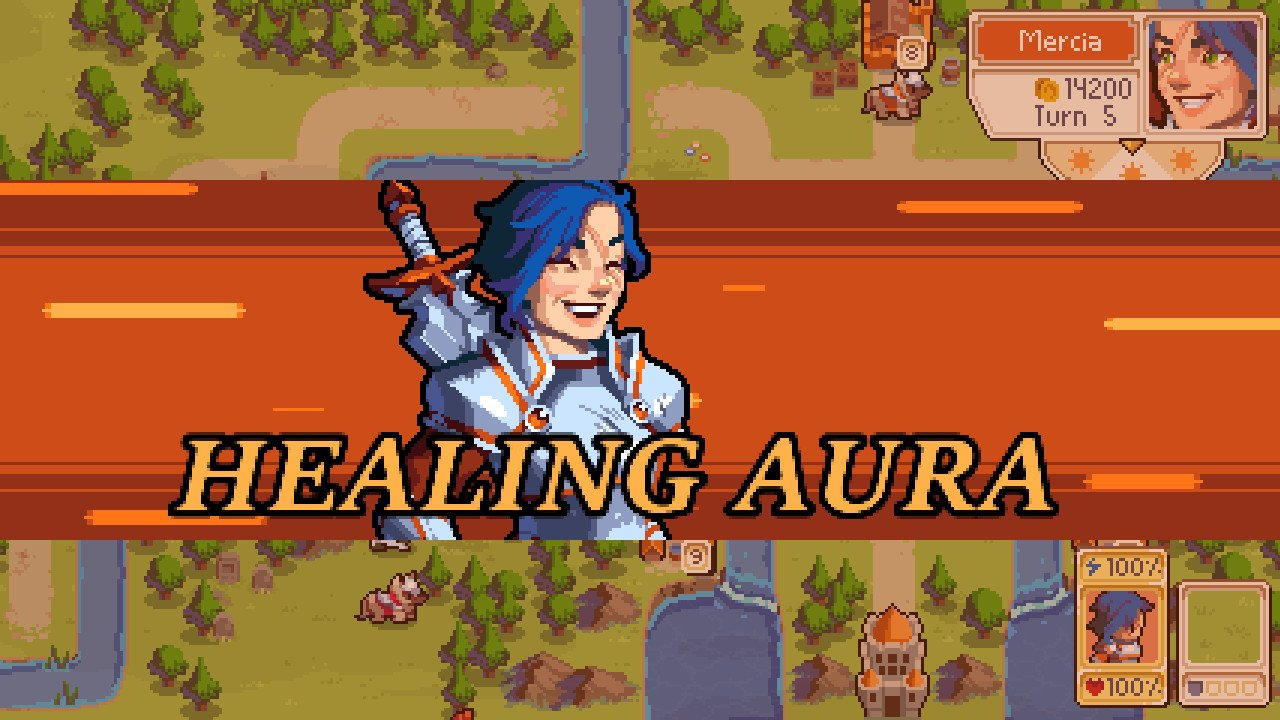 All Commander Groove powers in Wargroove