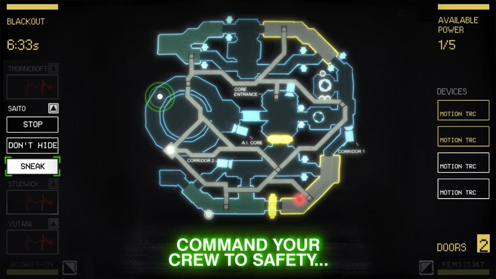 Alien Blackout mobile game announced Isolation