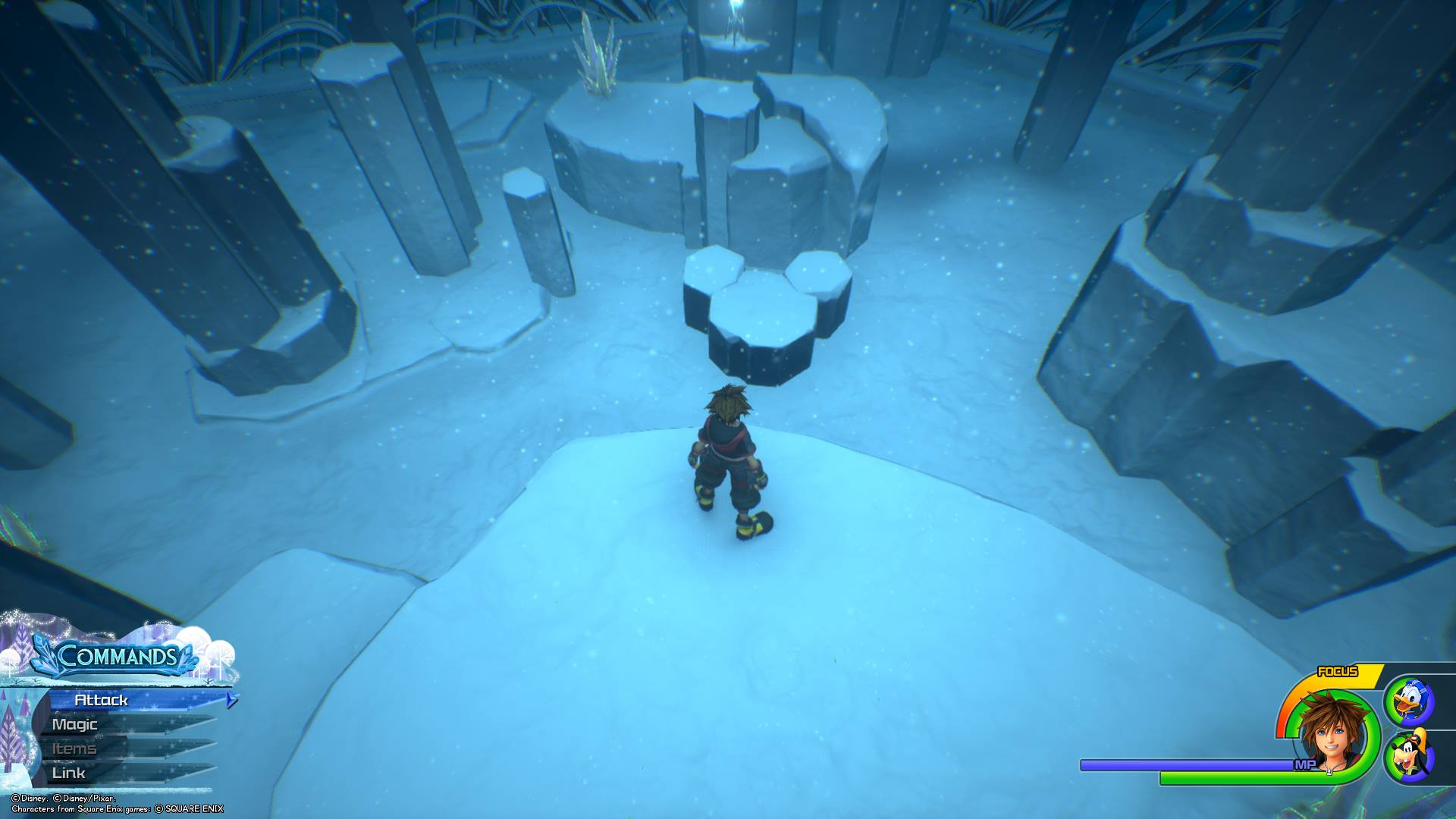 The final Lucky Emblem can be found in the Upper Tier of the Labyrinth.