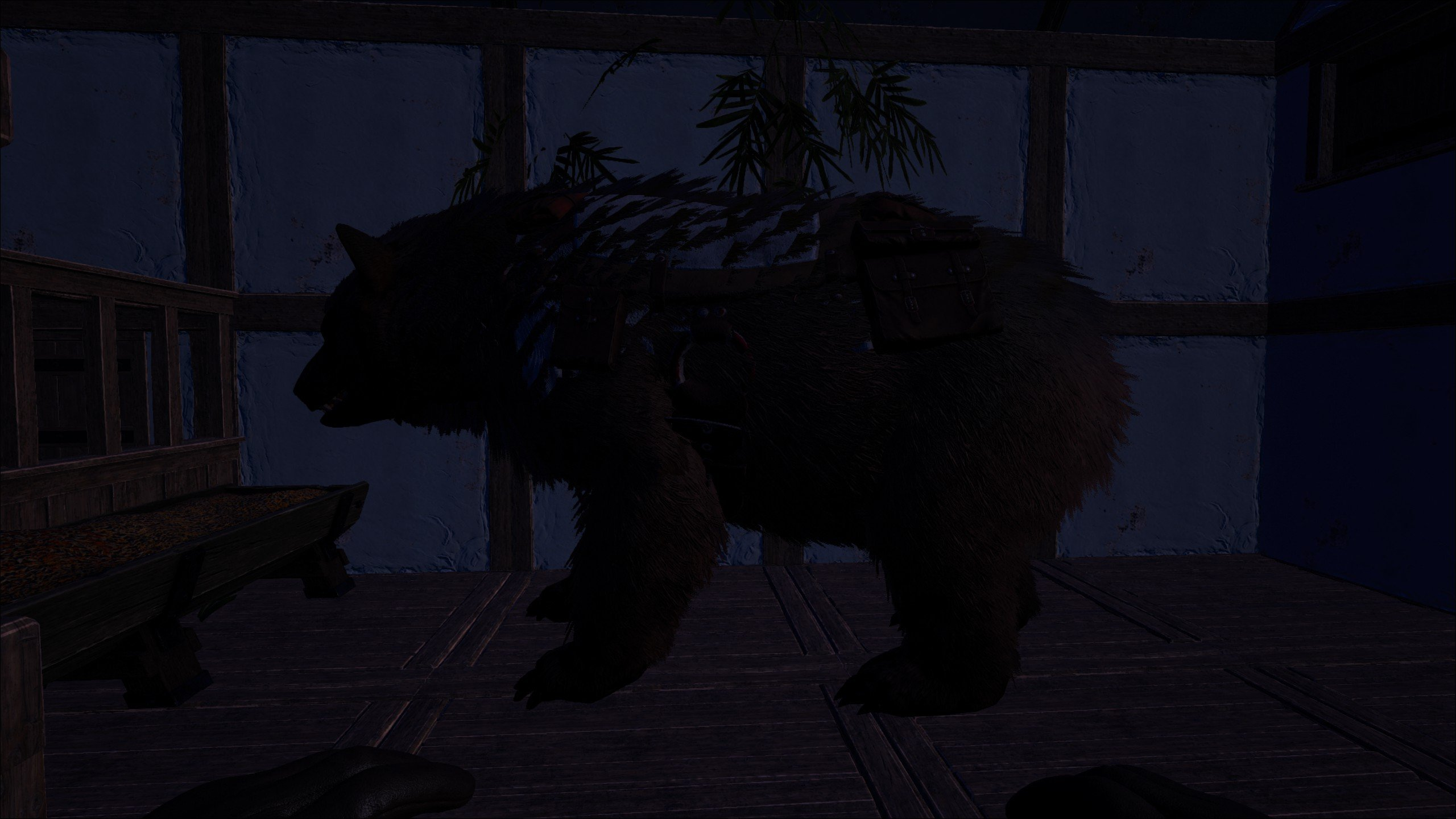 Image of a tamed bear - How to tame a bear in Atlas
