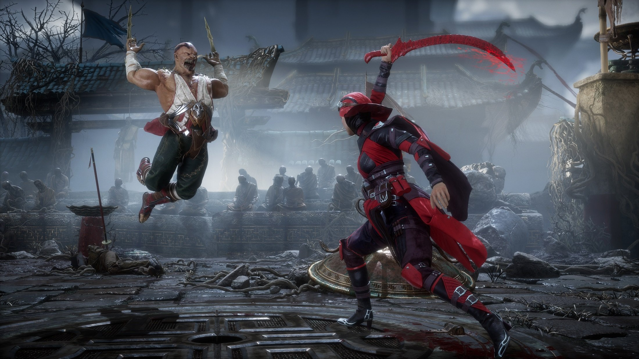 Skarlet and Baraka will both be available for play in Mortal Kombat 11.