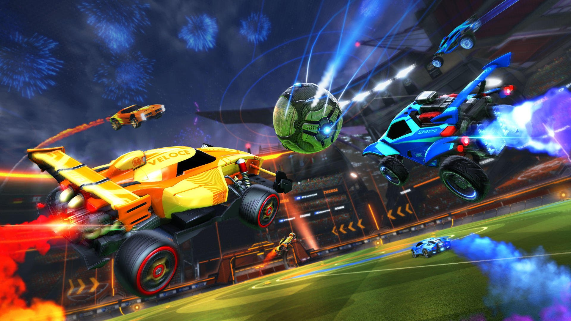 Full cross-platform support now available in Rocket League.