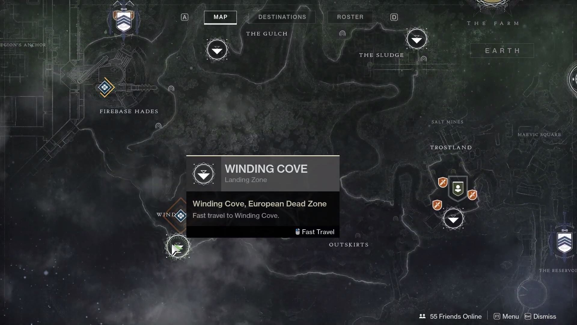 Starting January 4, Xur can be found near the Winding Cove in Destiny 2.