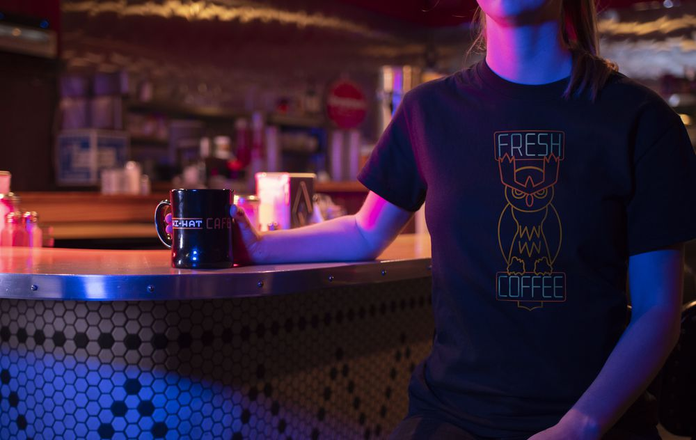 You can grab Detective Pikachu apparel including a Hi-Hat Cafe shirt and Noctowl