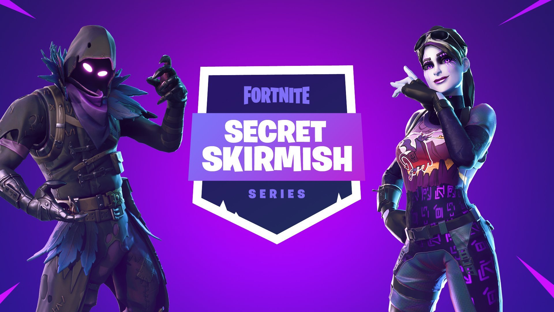 The Secret Skirmish event for Fortnite will go live on February 14.