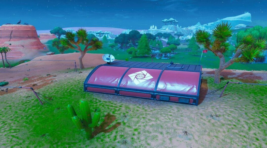 An Expedition Outpost in Fortnite