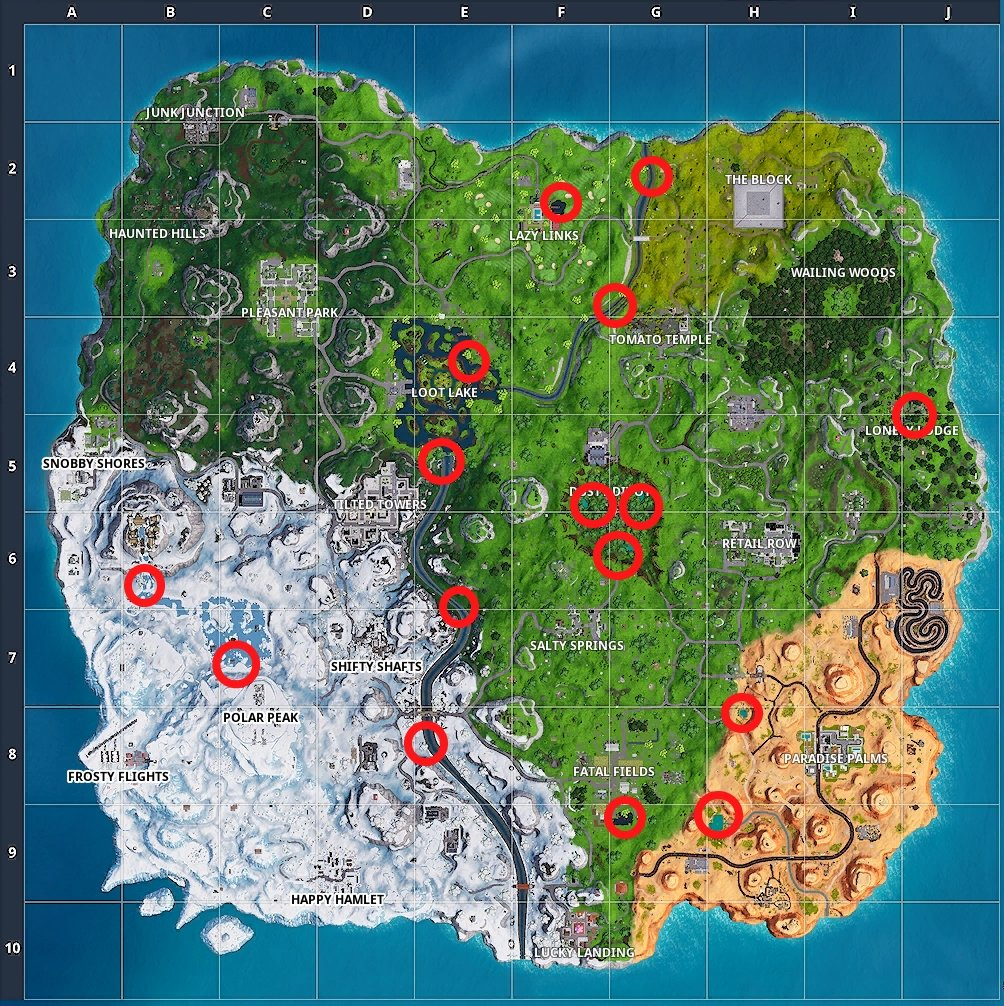 where to search waterside goose nests 14 Days of Fortnite