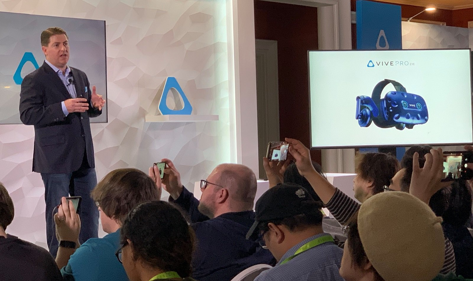 HTC reveals Vive Pro Eye at CES 2019