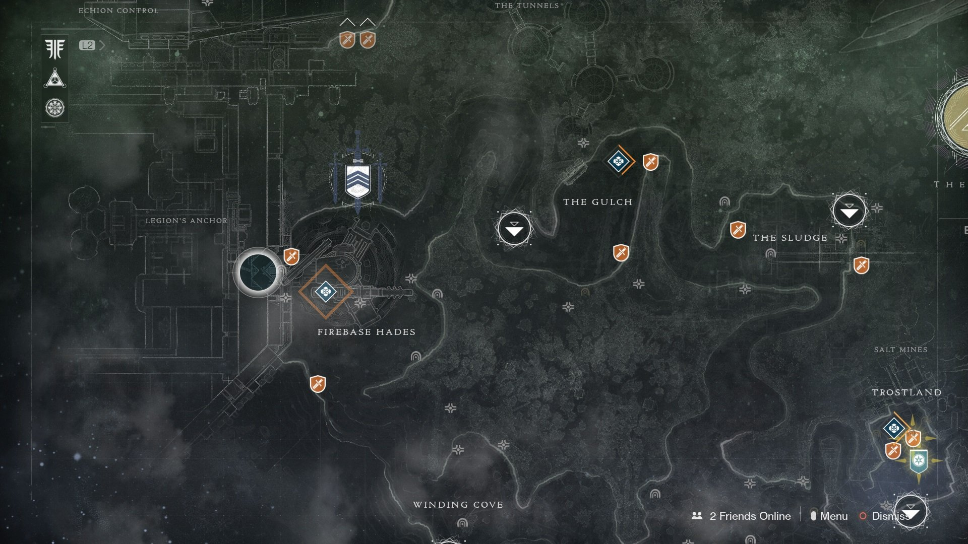 Irxis Partisan can be found in the Gulch area of the EDZ in Destiny 2.