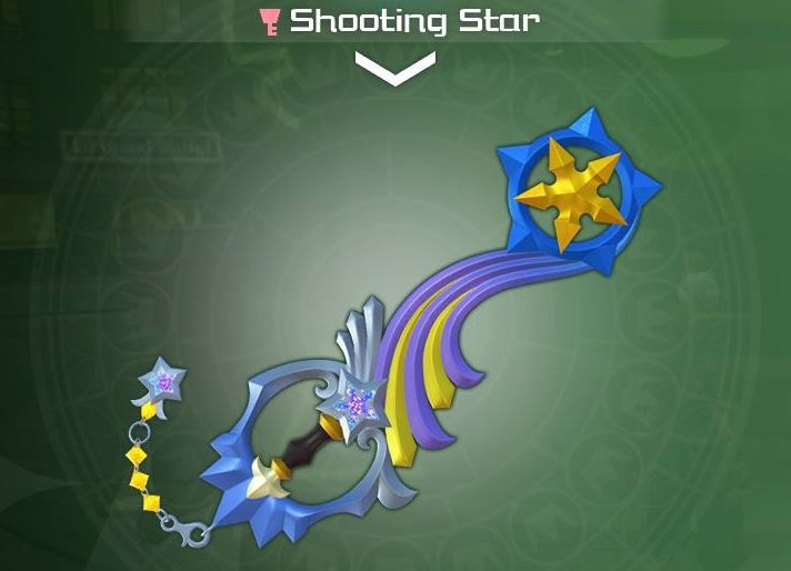 The Shooting Star from Kingdom Hearts 3.