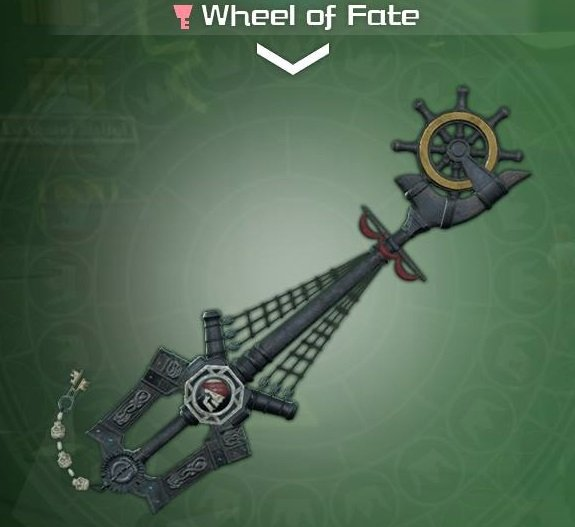 The Wheel of Fate from Kingdom Hearts 3.