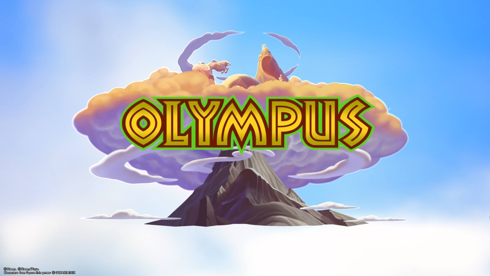 The first world you explore in Kingdom Hearts 3 is Olympus.