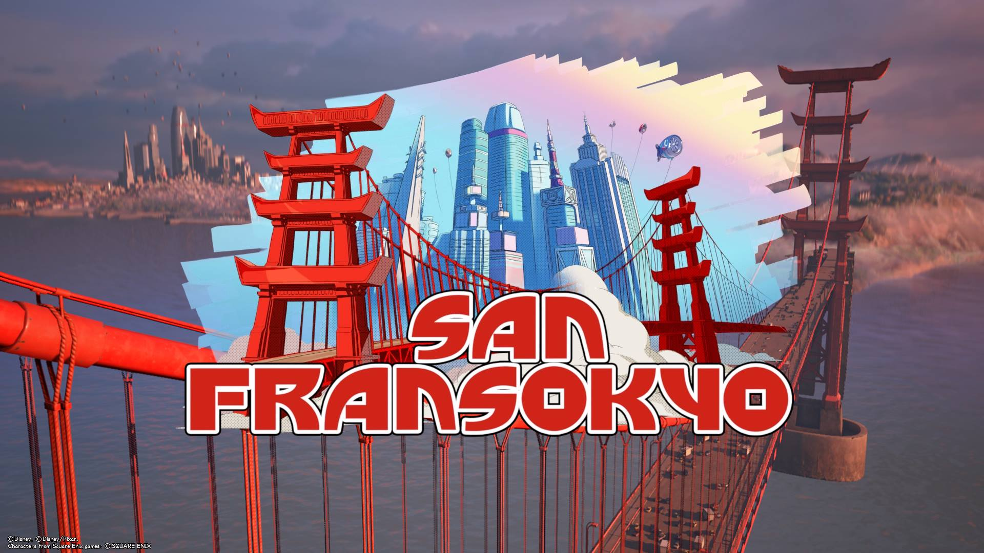 The 8th world that unlocks in Kingdom Hearts 3 is San Fransokyo.