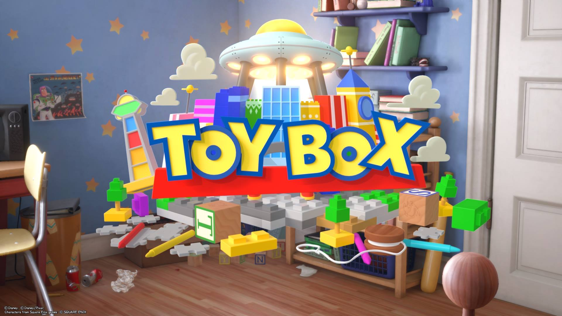 The 4th world that unlocks in Kingdom Hearts 3 is Toy Box.