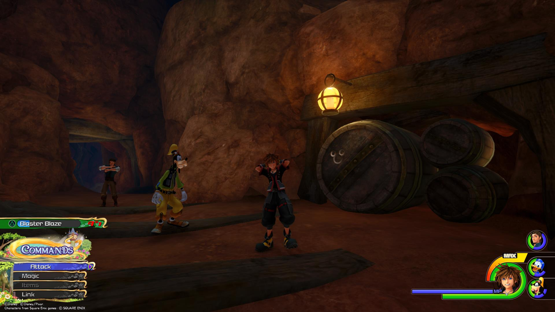 Emblem 3 - Where to find Kingdom of Corona Lucky Emblems in Kingdom Hearts 3