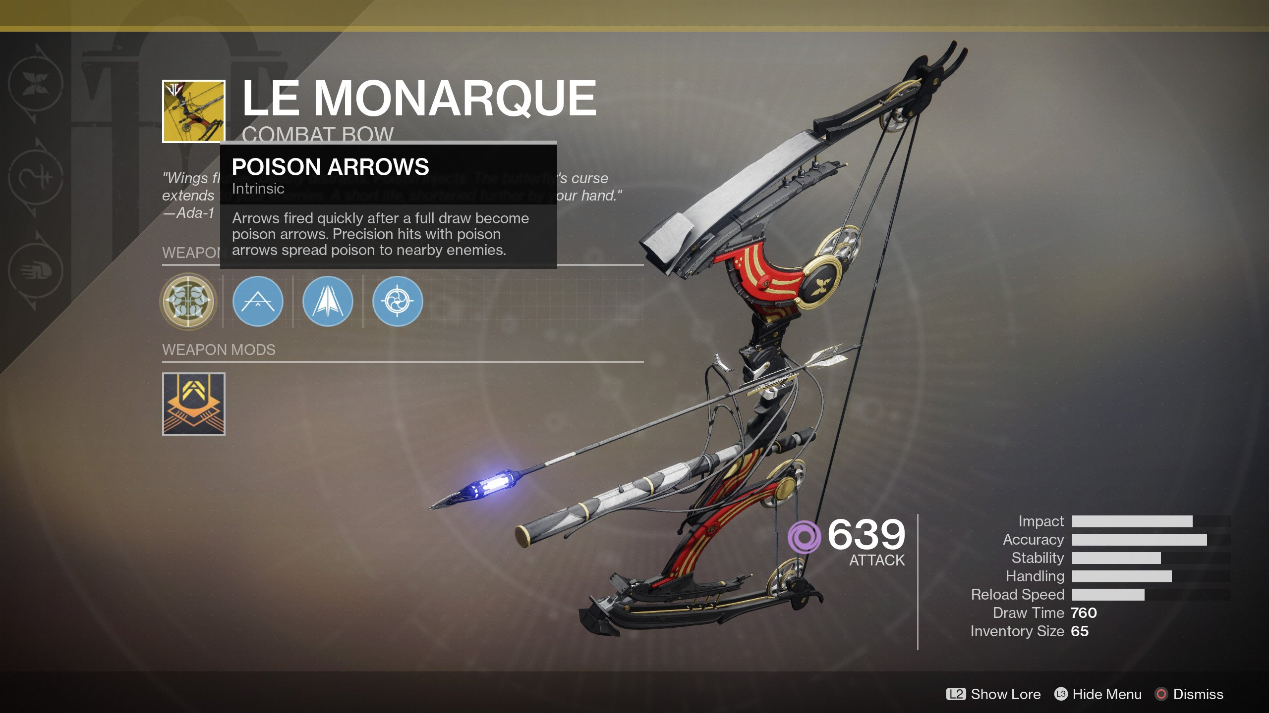 How to get Le Monarque Exotic Bow Destiny 2