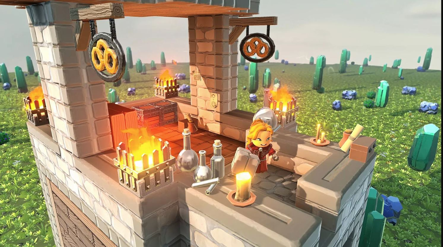 Portal Knights is free to PS Plus members in January 2019
