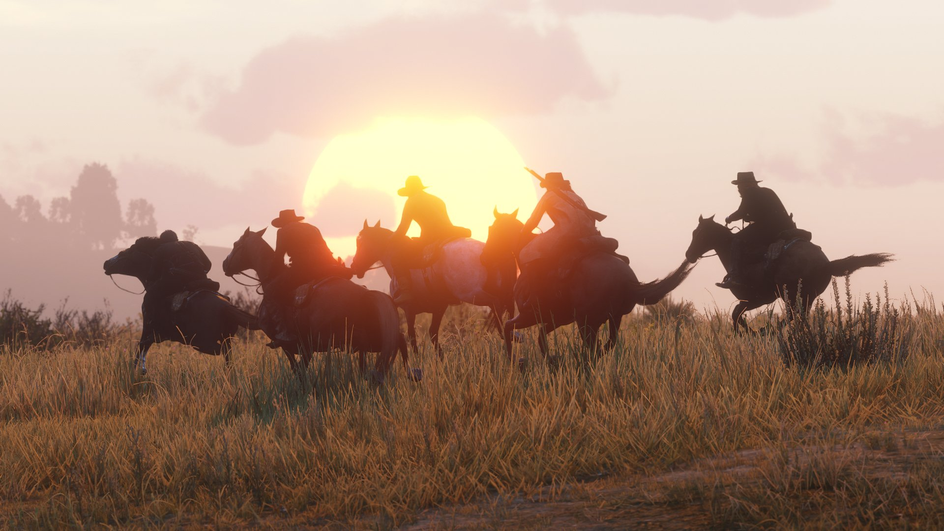 In Red Dead Online, you can play the new Gun Rush mode solo or with a team.