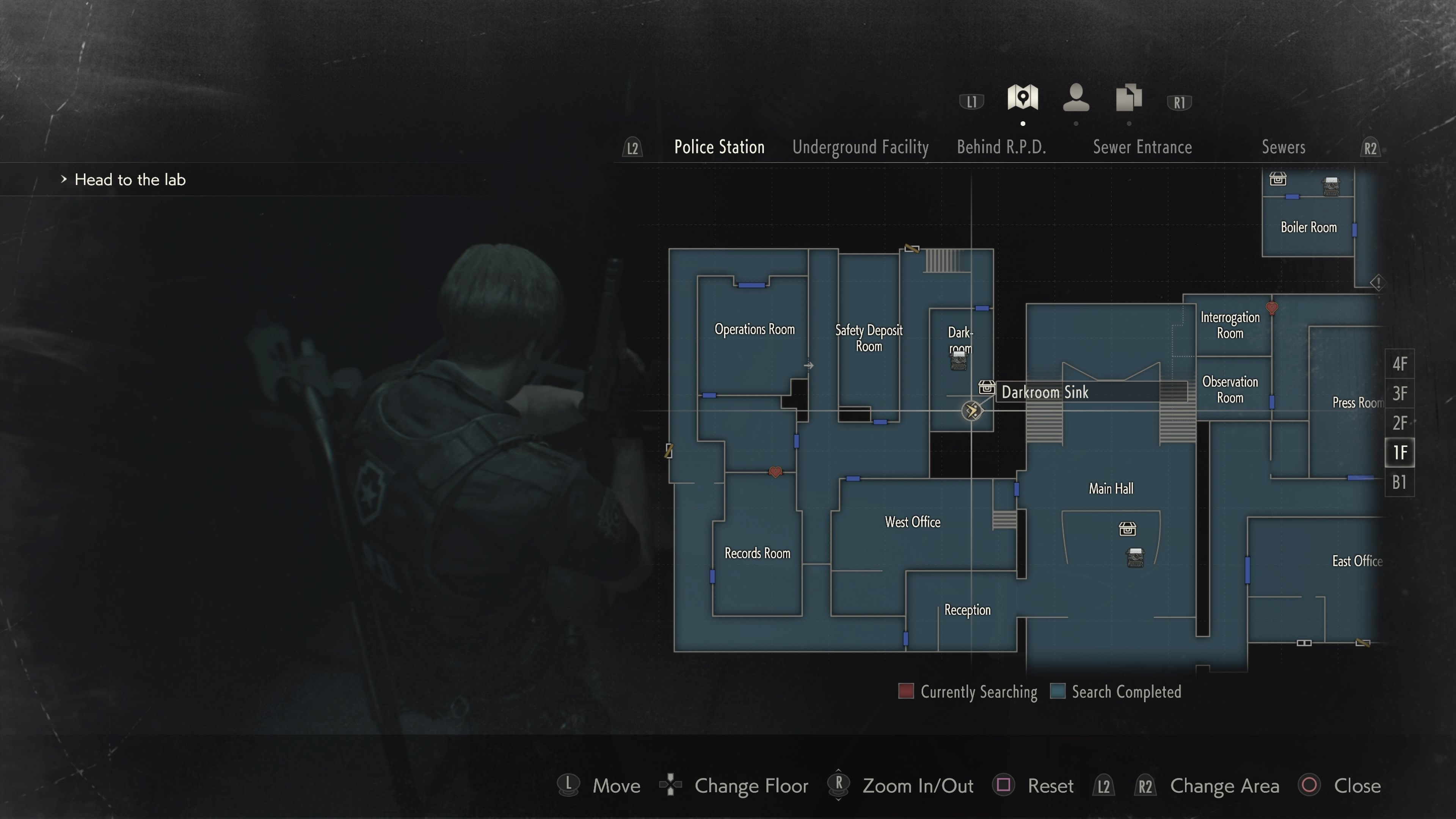 Where to find Hiding Place locations in RE2