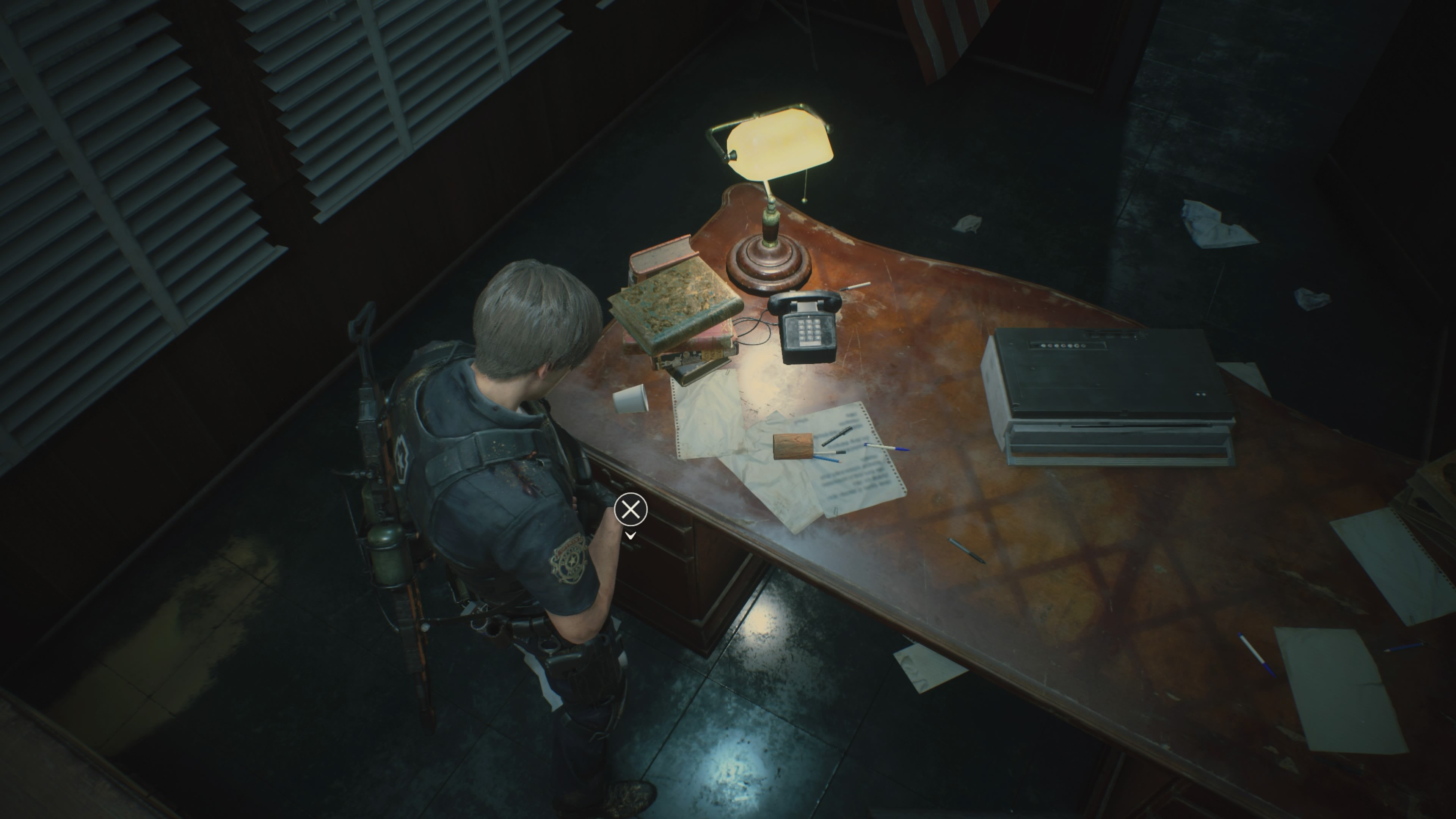 Hiding Place Film Locations in RE2