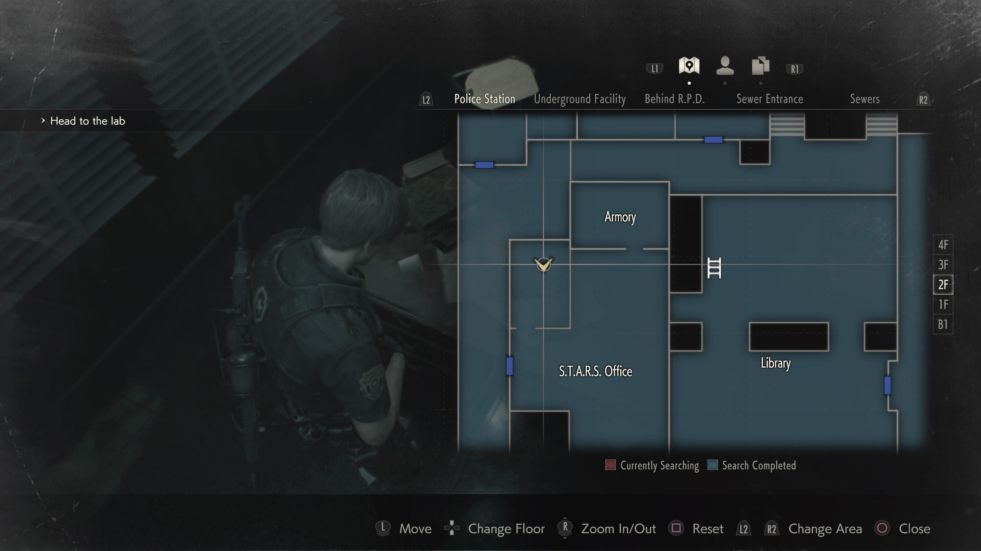 Where to search Hiding Place Resident Evil 2