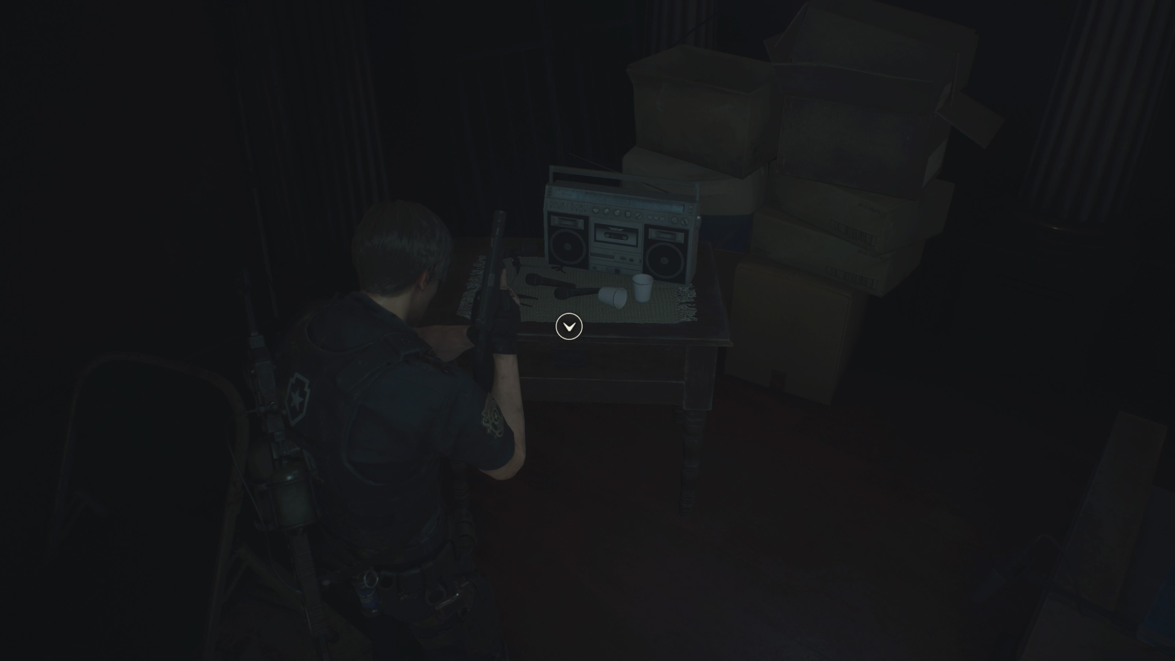 Where to find Hiding Place Film images in Resident Evil 2