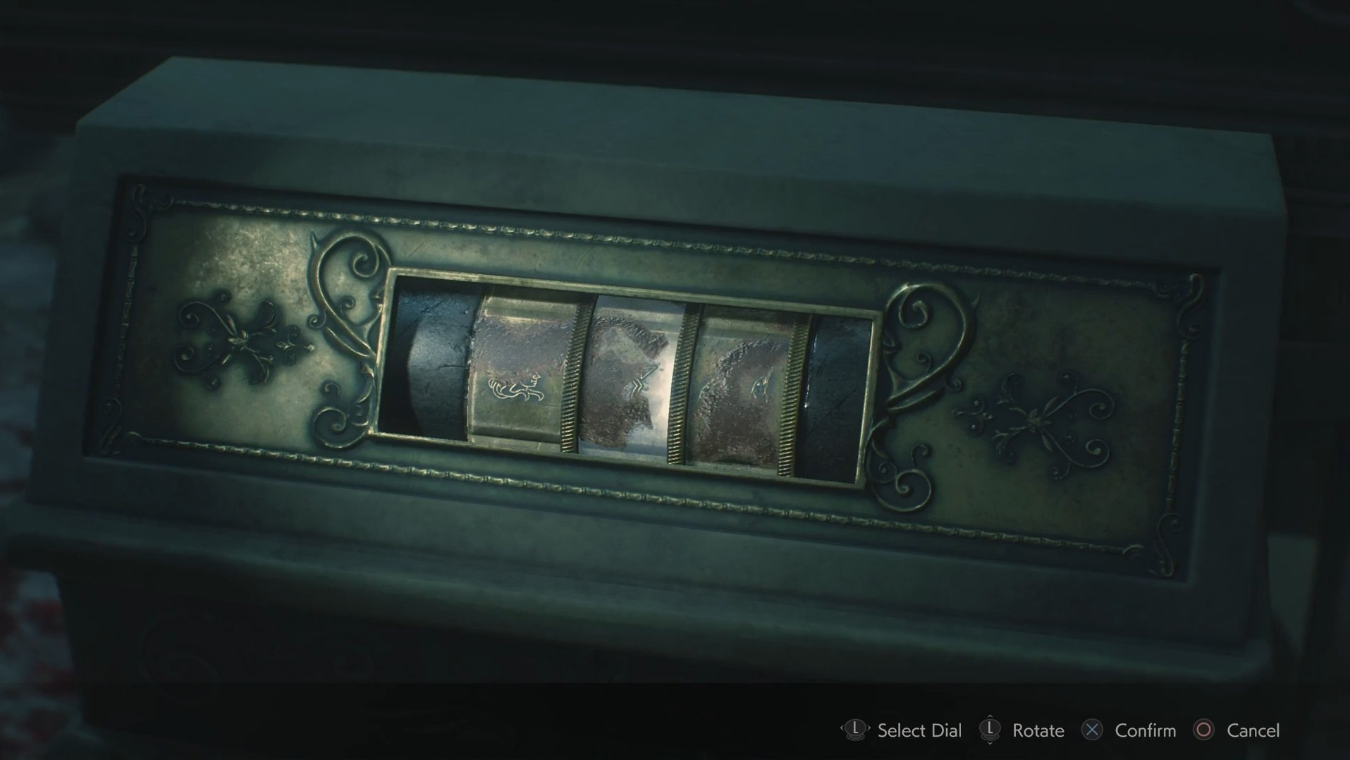 How to solve the Maiden Medallion Puzzle dials in Resident Evil 2
