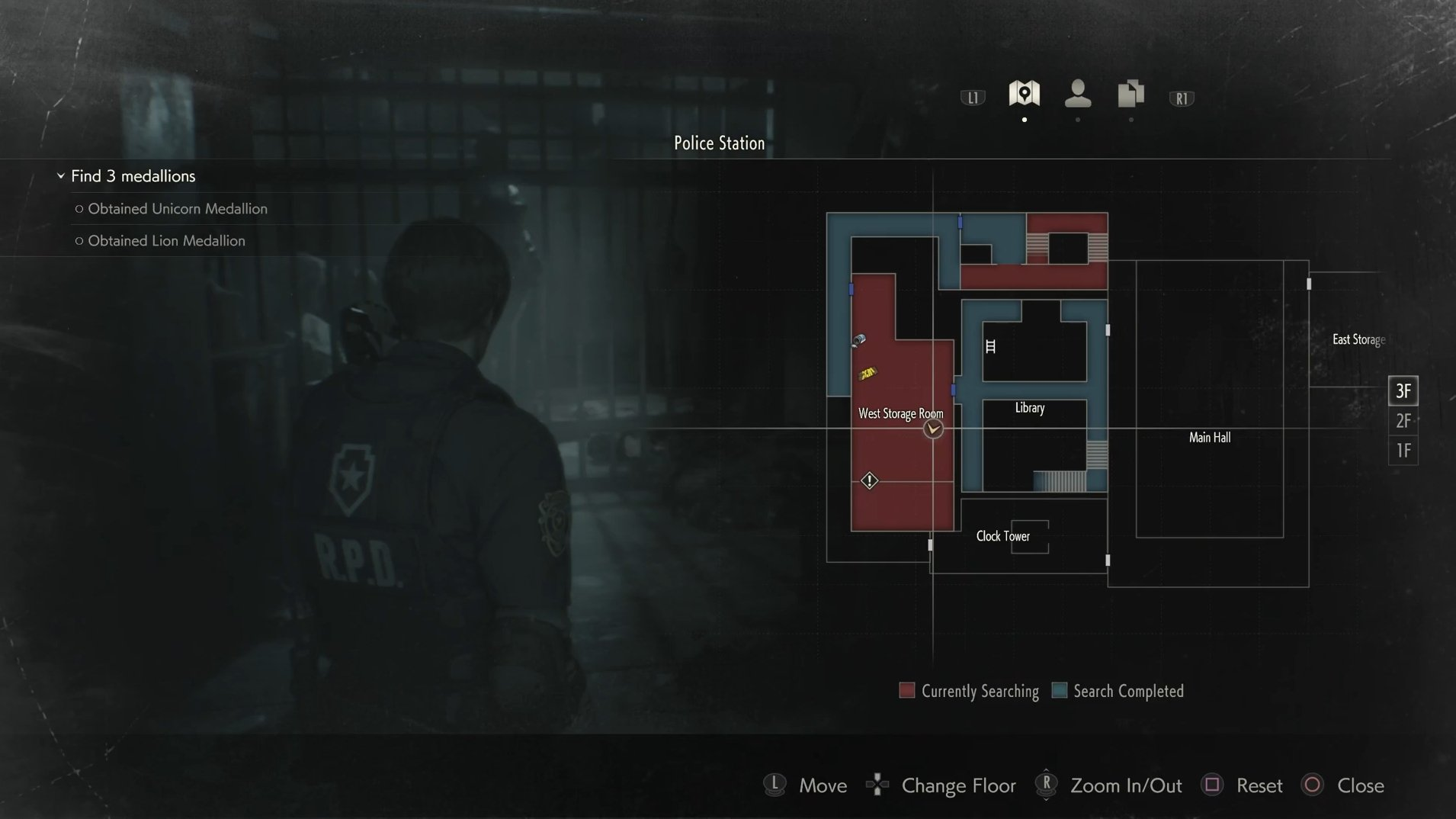 Where to find the Maiden Medallion in Resident Evil 2