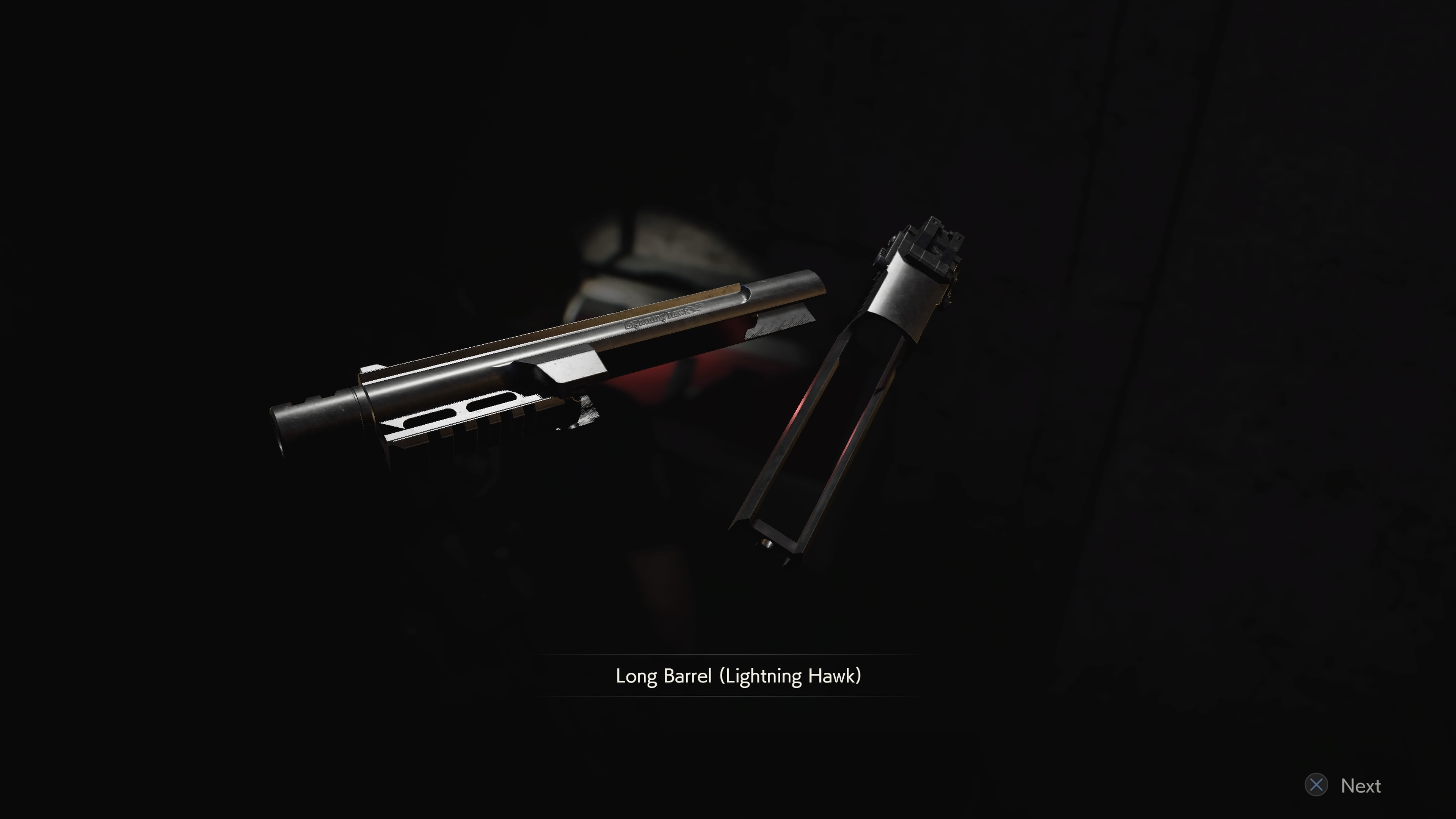 How to get the Lightning Hawk Long Barrel in Resident Evil 2