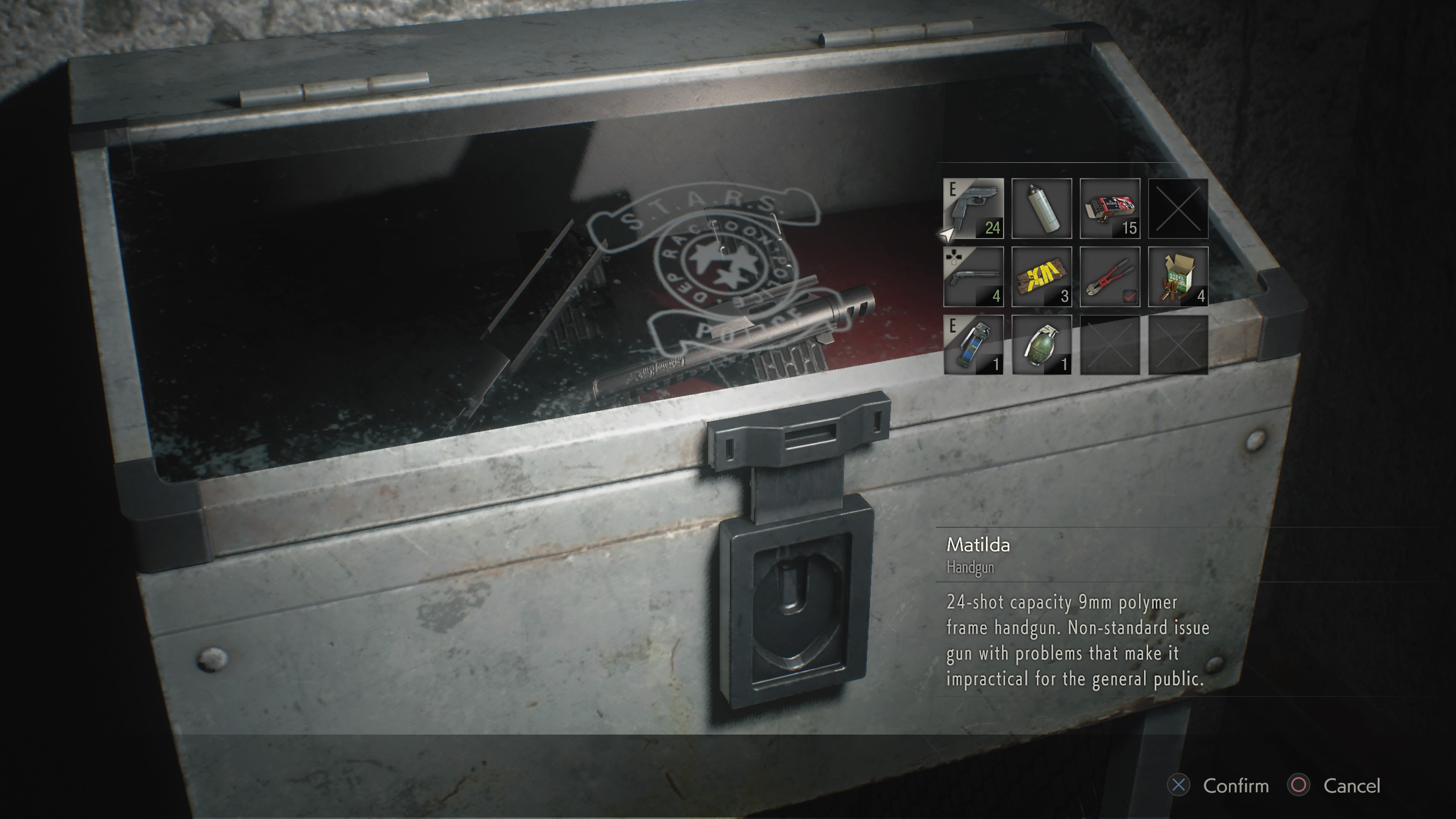 How to unlock the Special Weapons Case in RE2