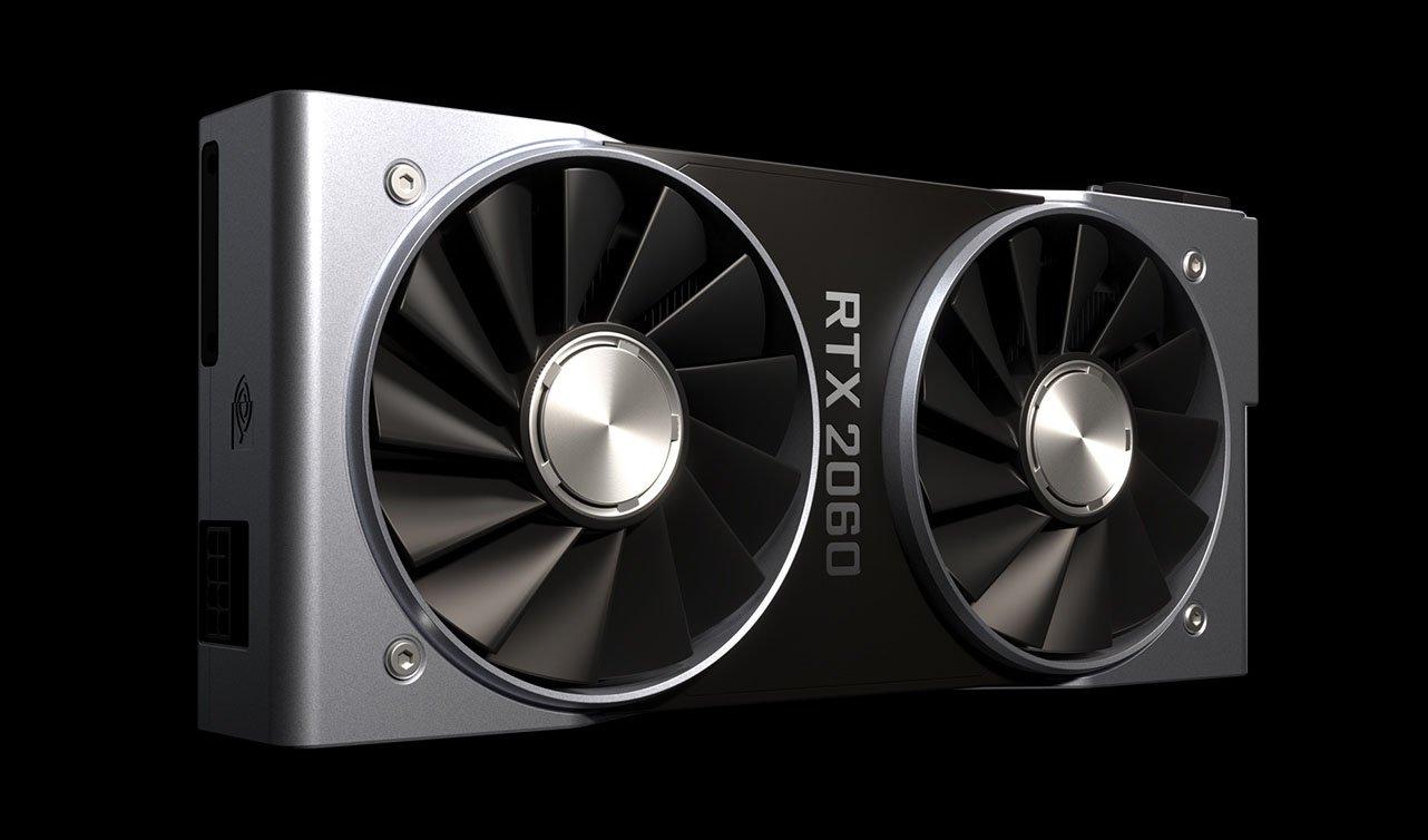 The Nvidia RTX 2060 GPU