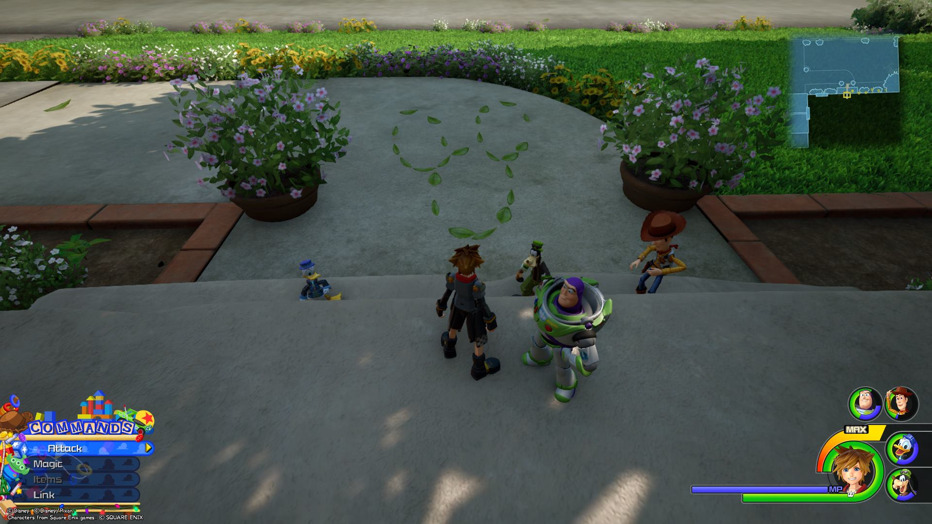 Emblem 3 - All Toy Box Lucky Emblems in Kingdom Hearts 3