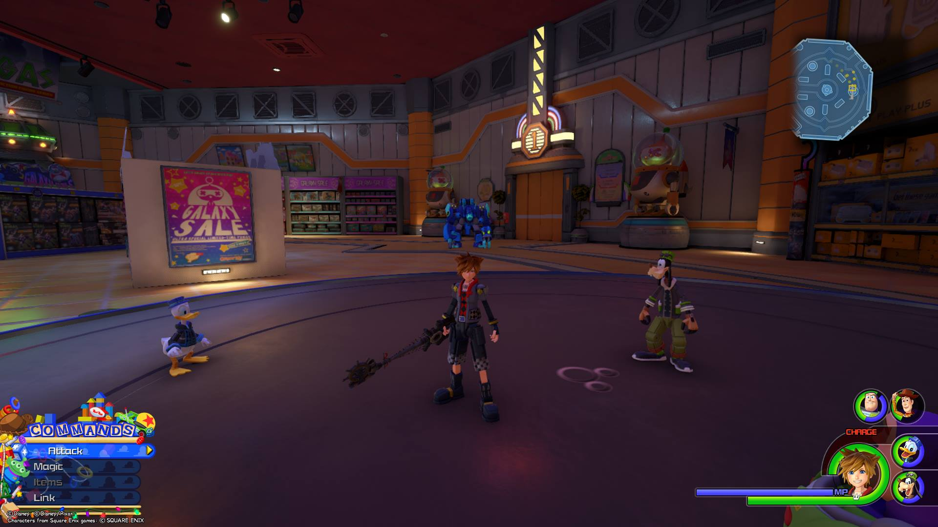 Emblem 7 - All Lucky Emblems in Toy Box Kingdom Hearts 3
