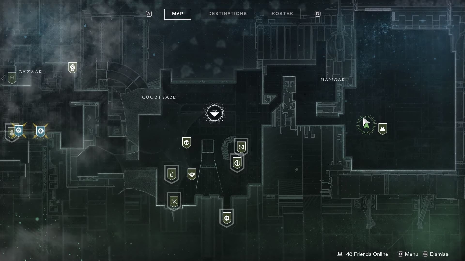 During the week of January 11, Xur can be found in the Tower area chilling out over in the Hangar.