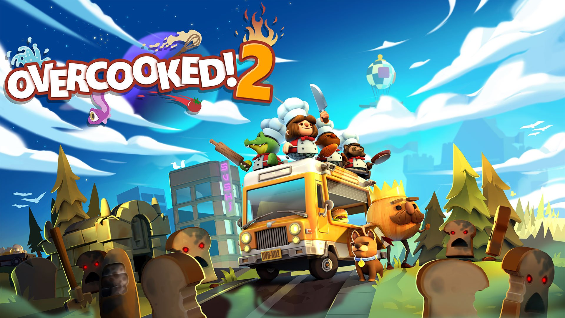 Add games like Overcooked 2 to your inventory during the Winter Sale on the Humble Store.