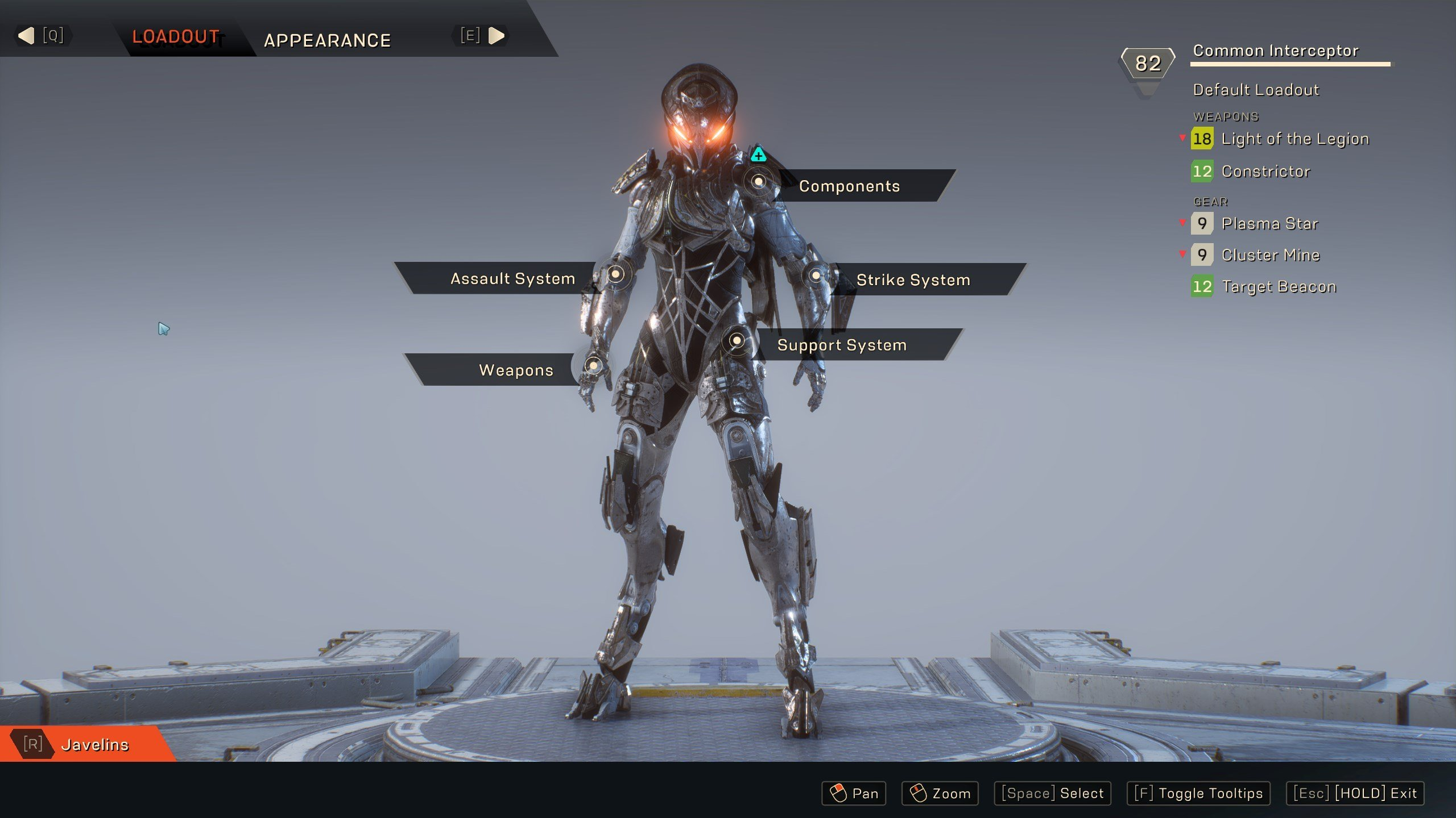 How to customize and paint your Javelin in Anthem
