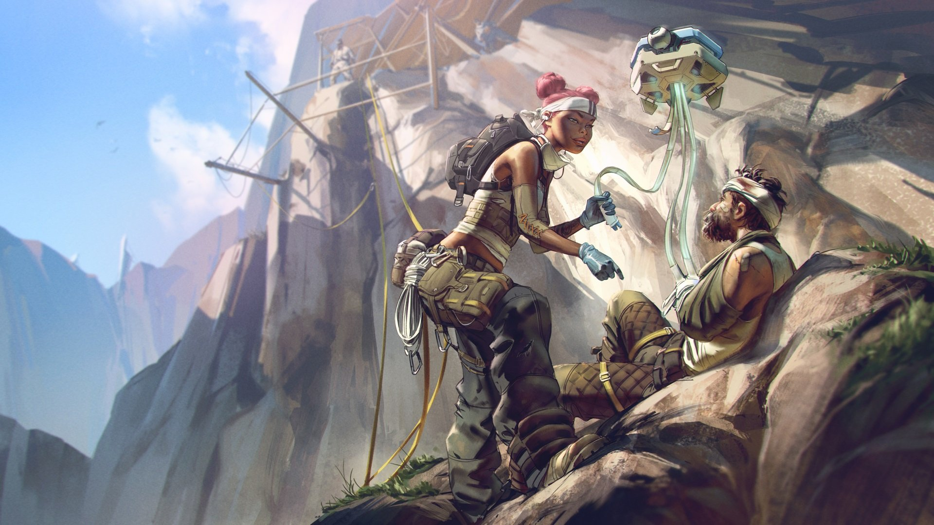 The first Battle Pass for Apex Legends will go live in March and will last approximately three months. In that time, Battle Pass owners will have the opportunity to earn exclusive cosmetic items.