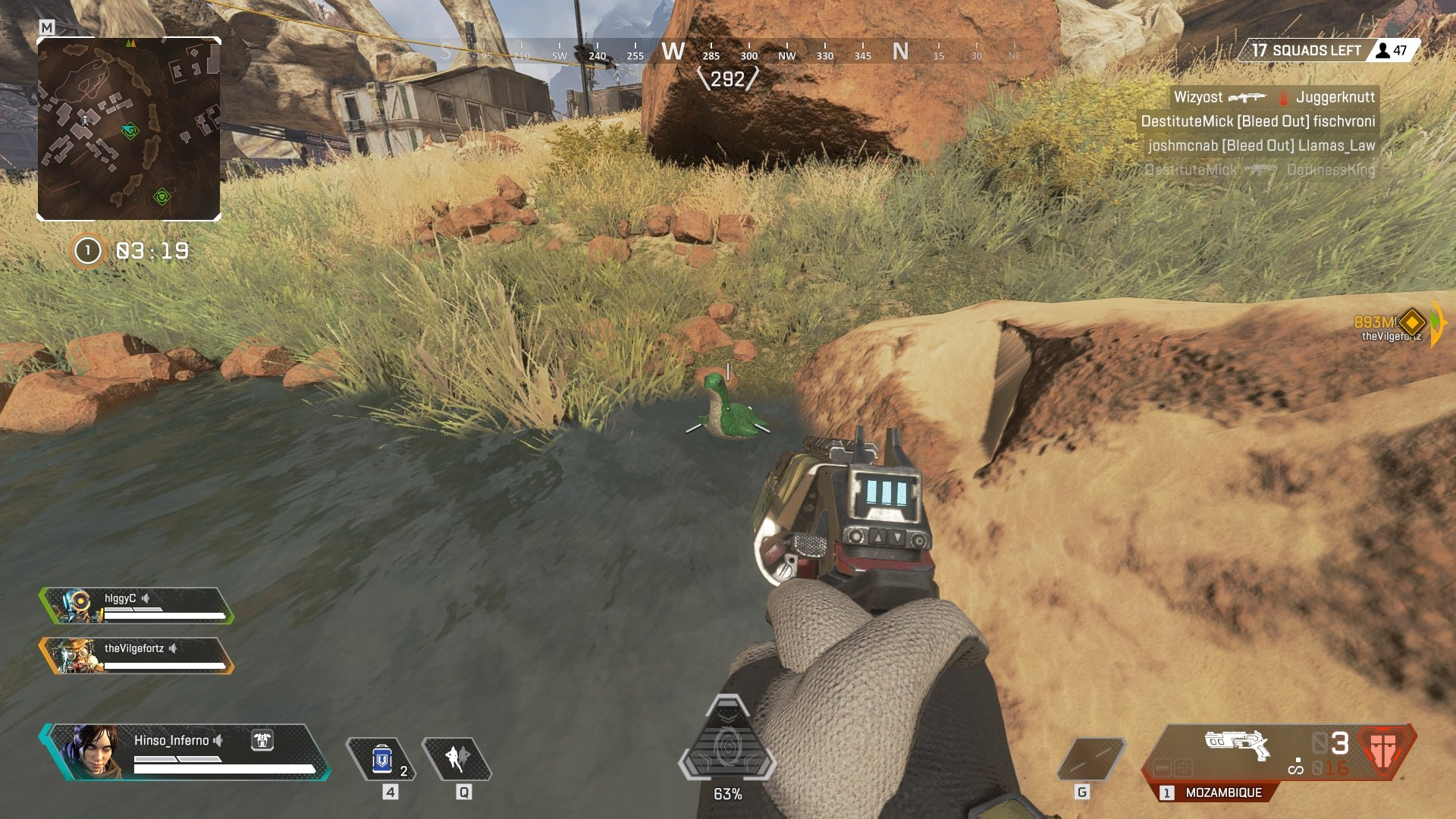 How to solve the Nessy Easter Egg challenge in Apex Legends