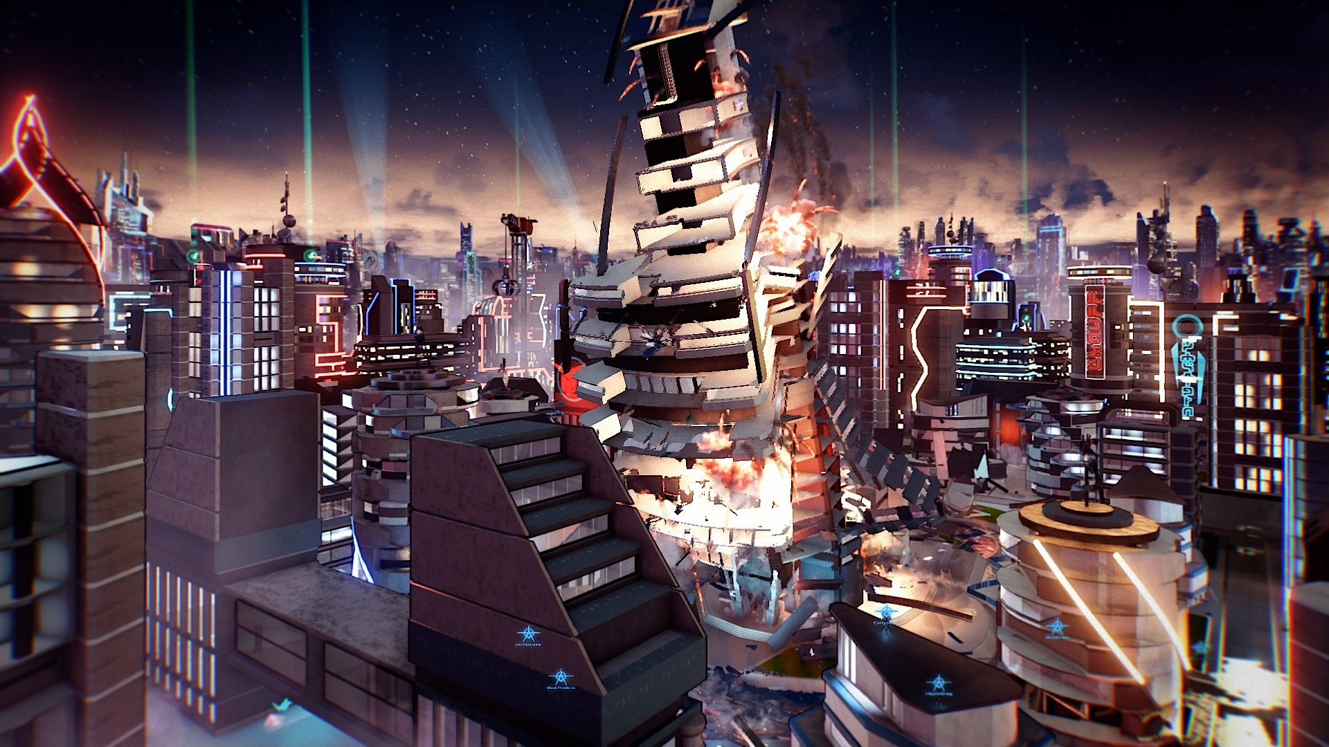 How to play with a friend in Crackdown 3