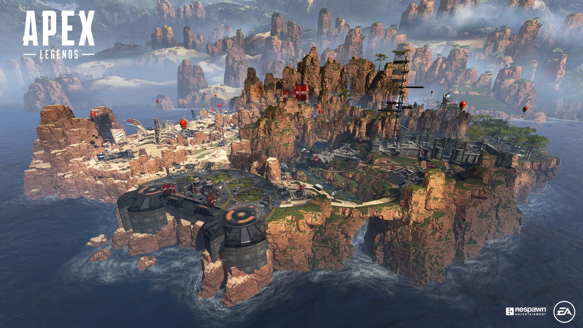 As of right now, there is no cross-platform support available in Apex Legends.