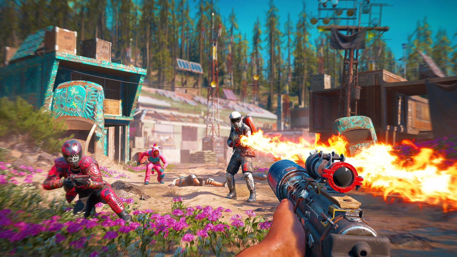 Far Cry New Dawn will take you anywhere from 15 to 30 hours to complete.