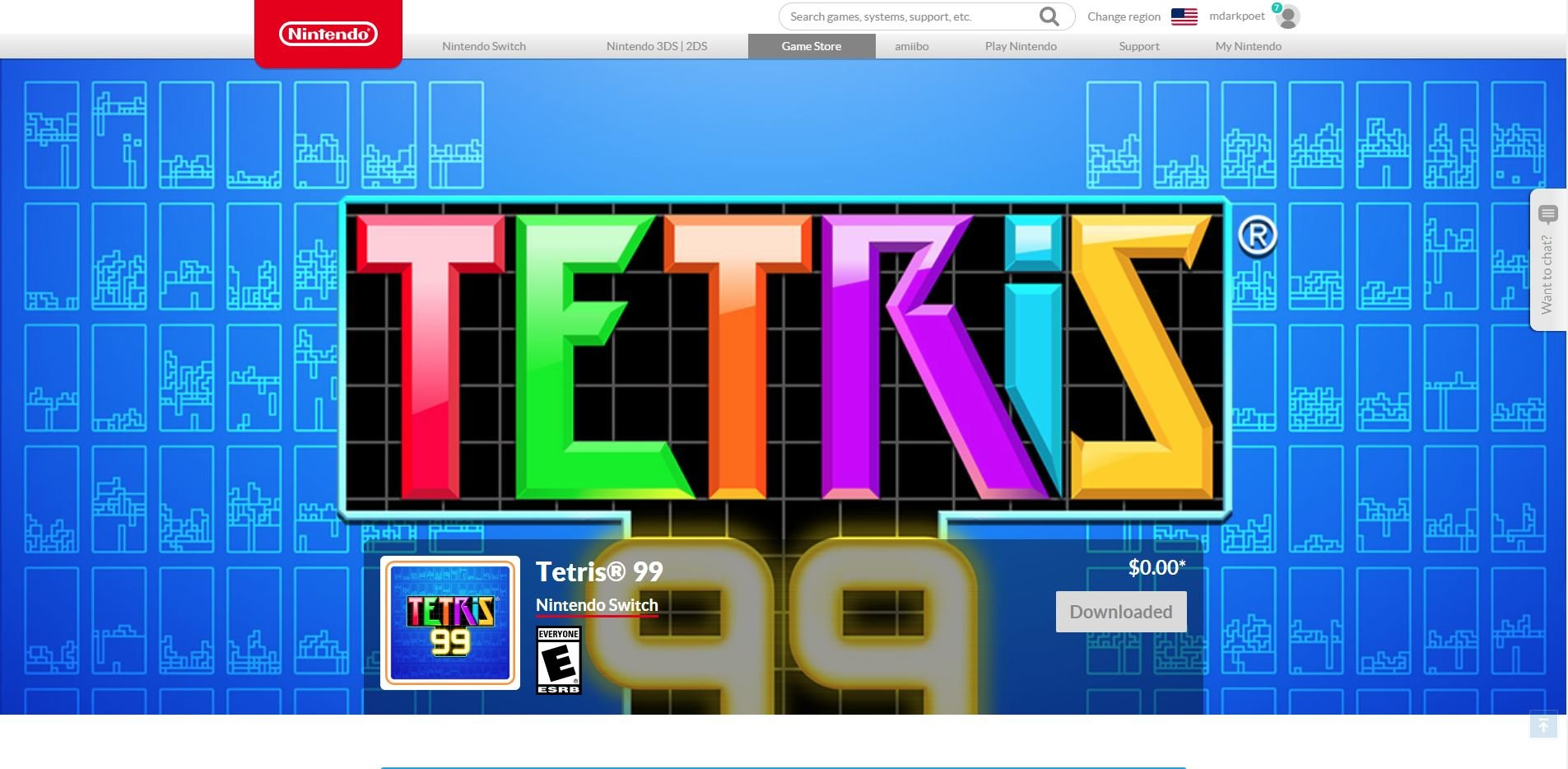How to download and play Tetris 99