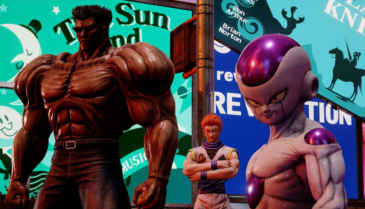The character design in Jump Force is clever, but terrifying as hell.