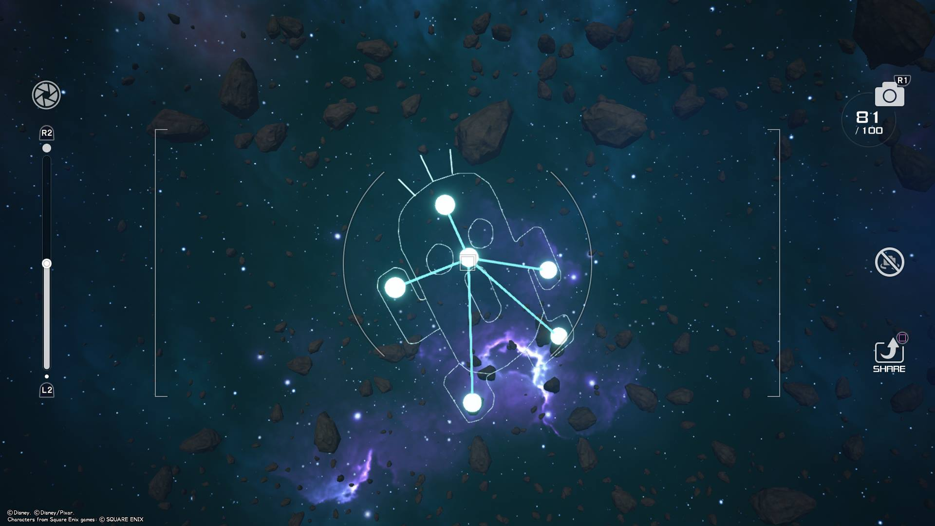 The Cactuar Constellation is located near the Kingdom of Corona world in the Starlight Way galaxy of Kingdom Hearts 3.