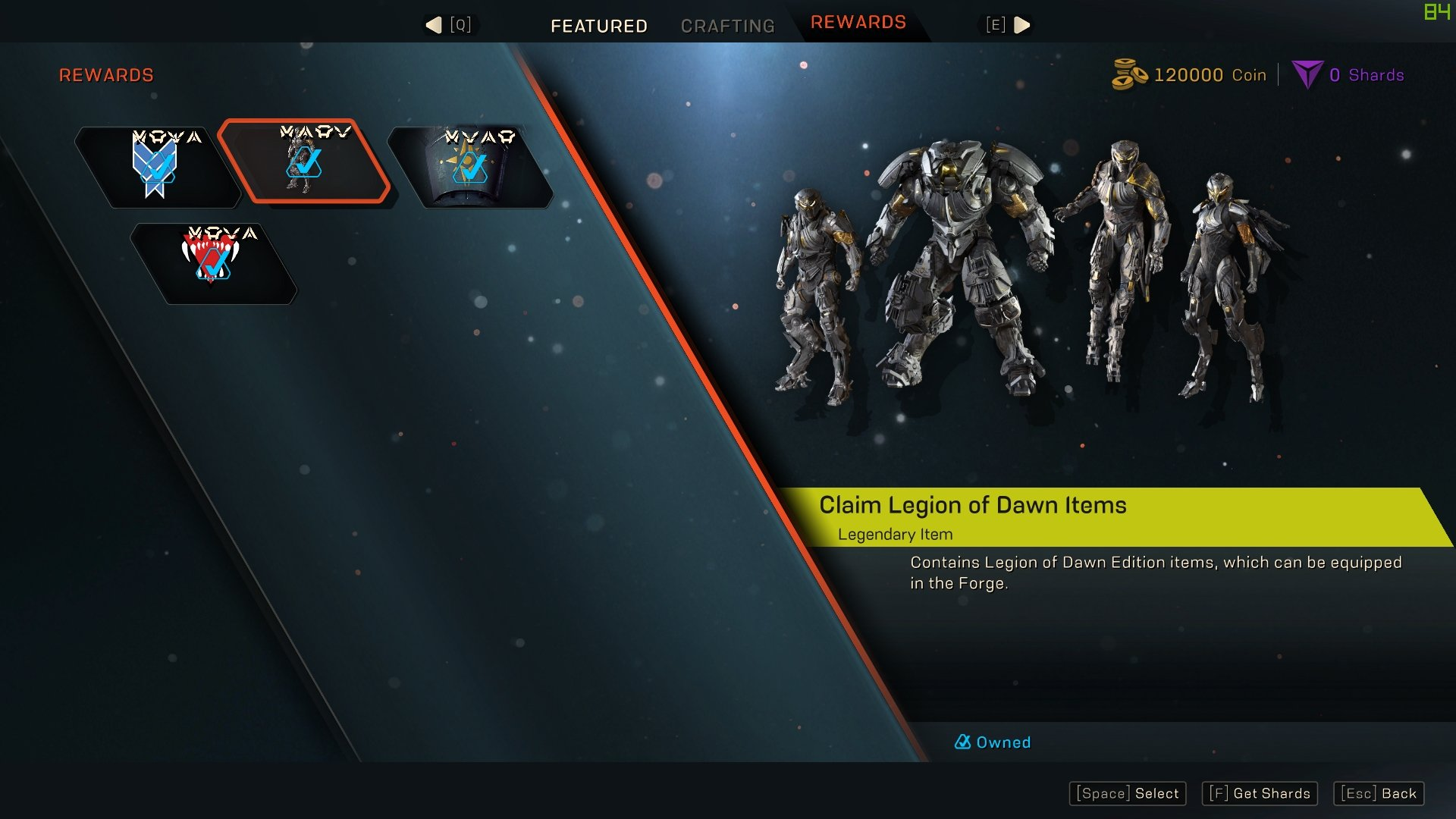 How to get the Legion of Dawn armor in Anthem