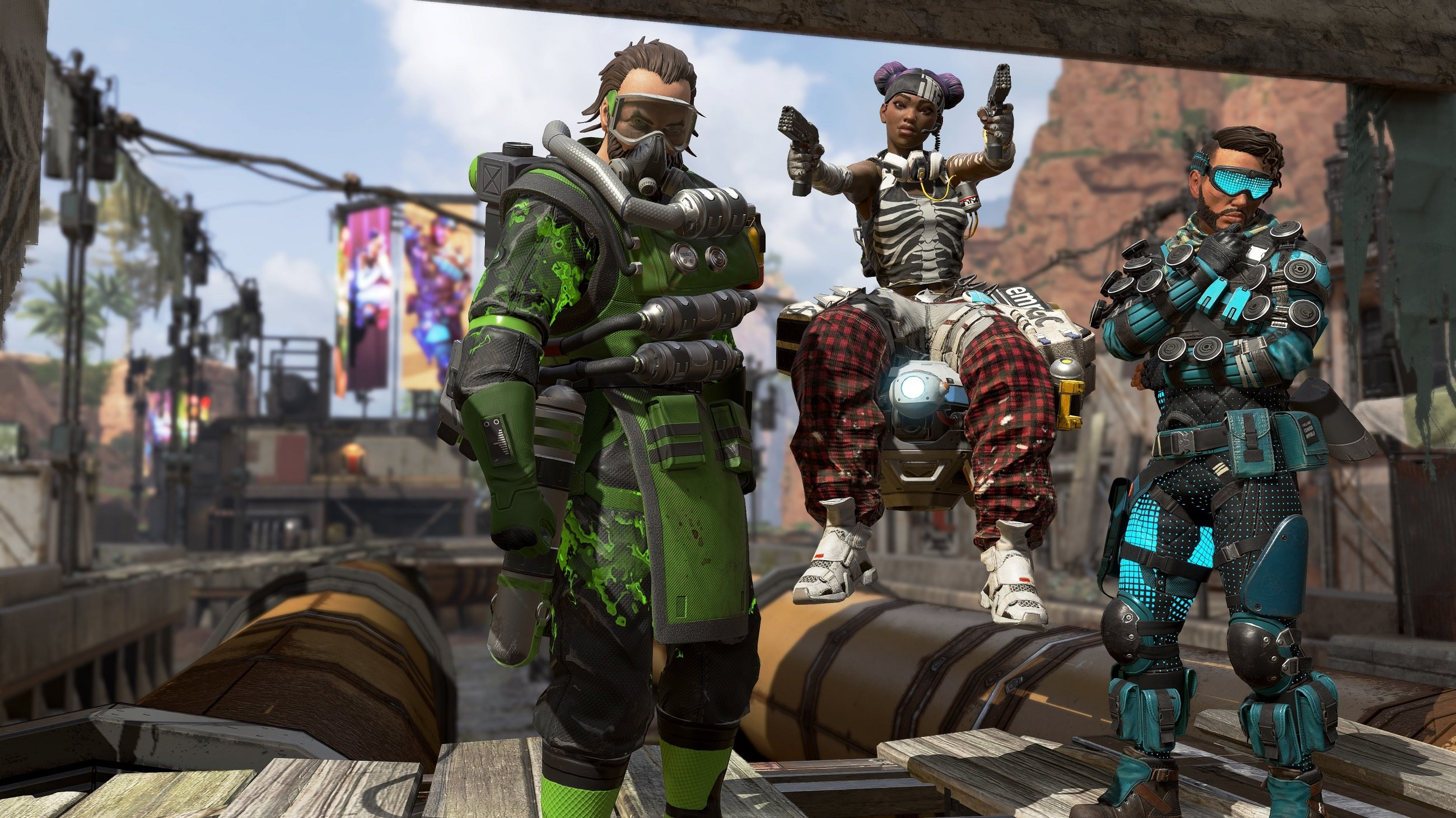 Below, we've listed the minimum and recommended requirements for Apex Legends on PC.