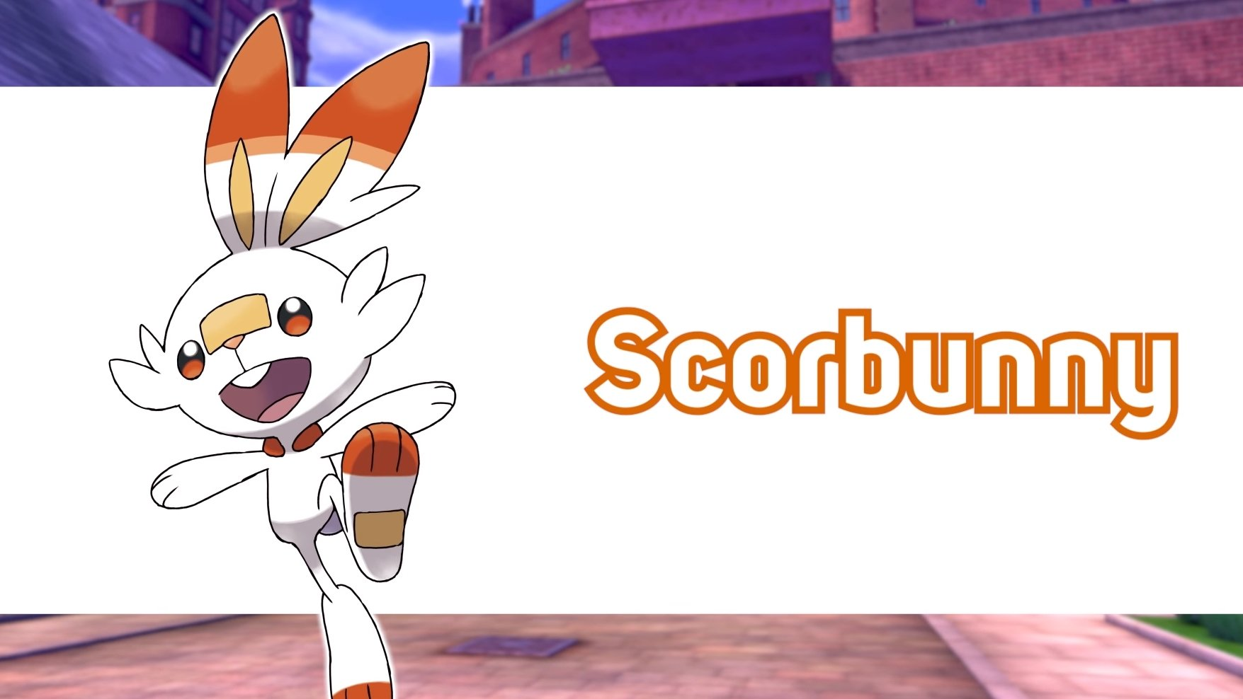 Pokemon Sword and Shield fire starter Scorbunny