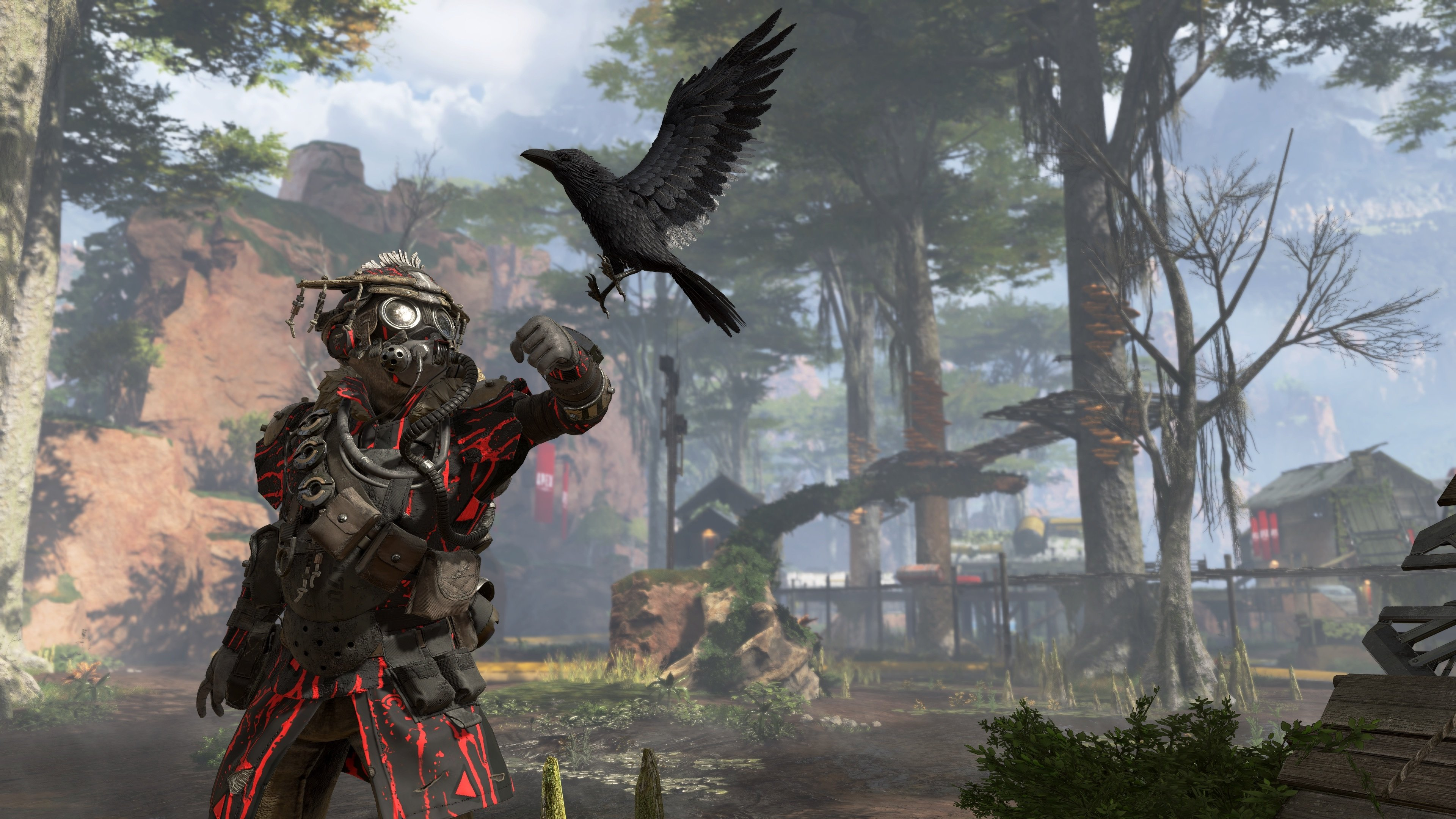 Apex Legends has no single player options available, with the primary game mode being three-man squads.
