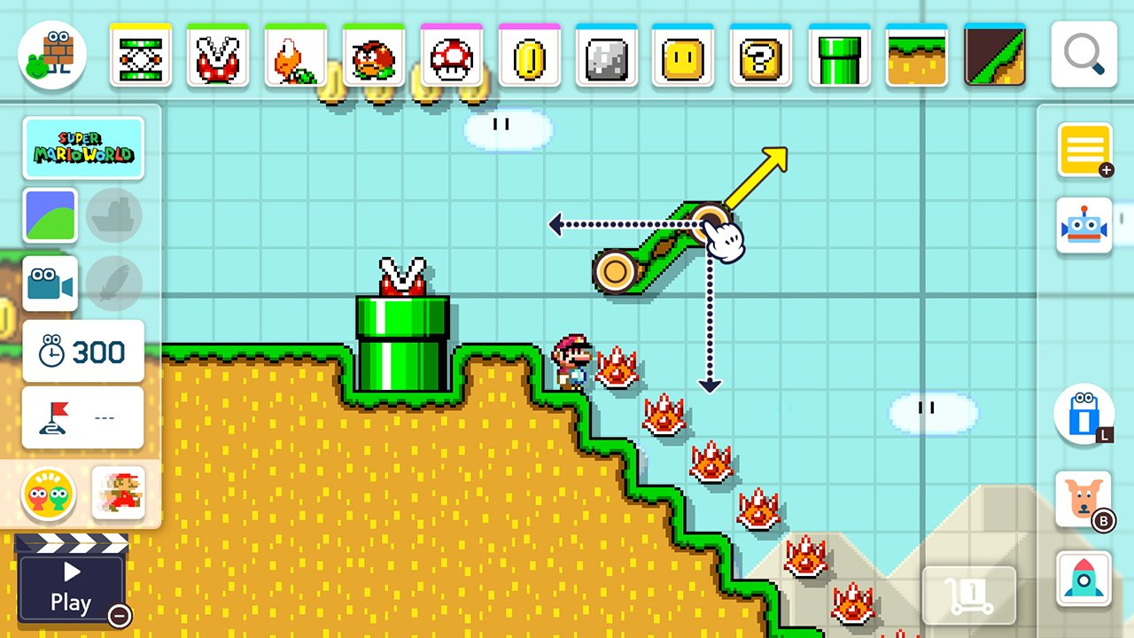 Super Mario Maker 2 is scheduled to release in June of 2019 for Nintendo Switch.