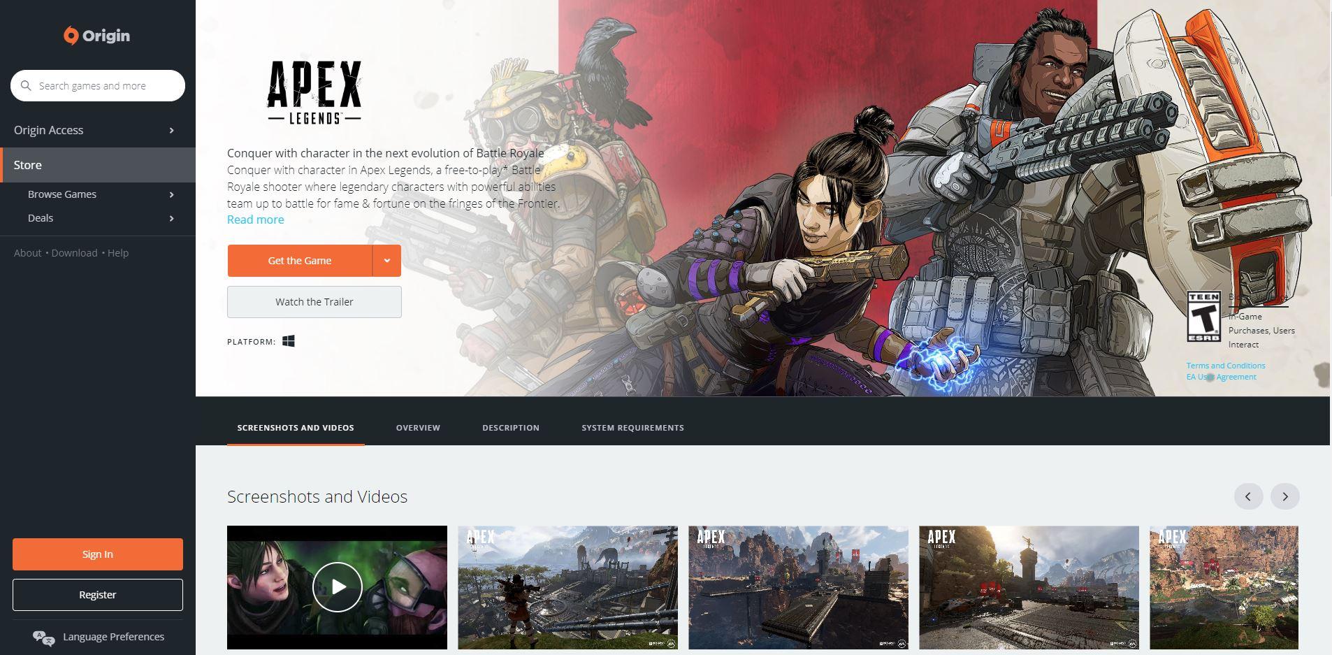 Where to download Apex Legends | AllGamers